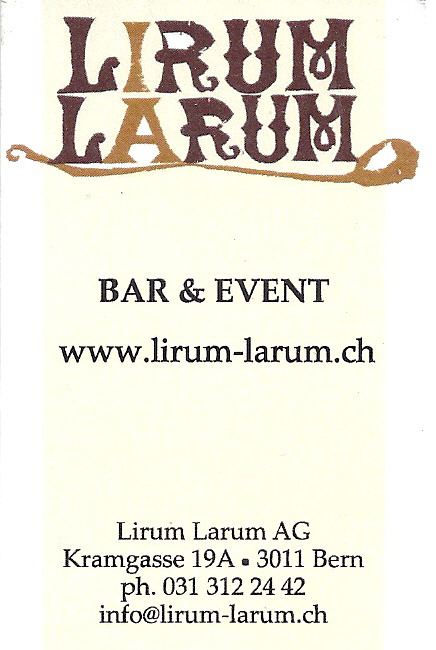 Lirum Larum